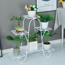 6-Tier Metal Flower Plant Shelf Rack Stand Balcony Floor-standing Multilayer US
