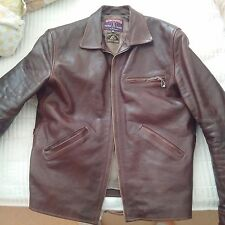 Eastman ELMC Californian 42L American Walnut Half-Belt Horsehide Jacket
