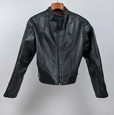 American Fencers Black Leather Master's Practice Jacket Fencing Jacket HEMA