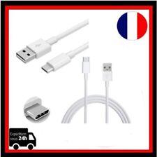 Cable Micro USB  Type C Data Sync Chargeur pr Samsung S8  Câble De Charge Blanc
