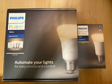 4x Philips HUE White Ambiance Glühbirnen E27 LED Lampe