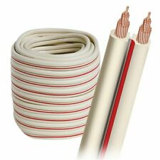 AudioQuest X2 Bulk Speaker Cable with White Jacket (50' Spool)