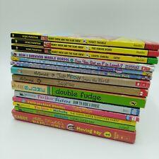 Girls Series Books Judy Moody Nancy Drew Full House Junie B Jones 14 Book Lot