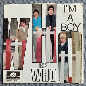 EP THE WHO - I'M A BOY (POLYDOR FRENCH EP 60'S BRITISH BEAT)