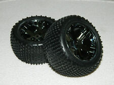 TRAXXAS RUSTLER VXL REAR WHEELS/TIRES