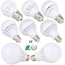 E27 Светодиодный шар лампа свет 3 Вт 5 Вт 7 Вт 9 Вт 12 Вт 15 Вт белая лампа 110 В 220 В энергосберегающая