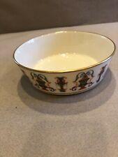 Lenox Usa Multi Purpose Bowl~Cream W Multi Color Design