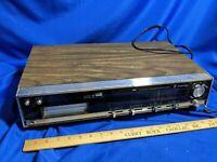 70s Juliette FM/AM Multiplex 8-Track Player Stereo Receiver VTG Quad-4 Sound