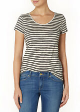 WRANGLER- Women's -Striped- t shirt -Tank -Top -Ladies -GENUINE -Tee -Size Large