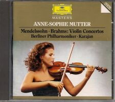 ANNE-SOPHIE MUTTER (Mendelssohn - Brahmas Violin Conciertos)