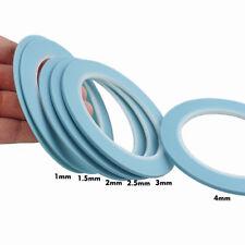 Hi-Temp Vinyl Fine Line Fineline Masking Tape 1mm 1.5mm 2mm 2.5mm 3mm 4mm Mix 6R