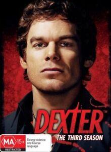 Dexter : Season 3 (DVD, 2009, 4-Disc Set)