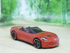 Hot Wheels '14 Corvette Stingray 1/64 Diecast Model Car - Excellent Condition
