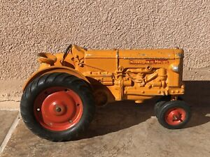 Original Vintage 1950's Slik Minneapolis Moline Toy Tractor