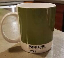 New listing Whitbread Wilkinson Pantone 5757 Olive Green Color Identification Mug