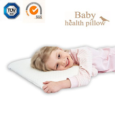 3-10 Years Memory Foam Pillow for Kids Flat Sleeping Pillow for Child Toddler