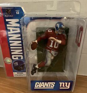 McFarlane Sportspicks NFL 13 ELI MANNING variant red action figure-NY Giants-NIB