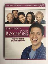 EVERYBODY LOVES RAYMOND Complete Eighth Season 5 DVD Set SEALED NEW HBO 2011