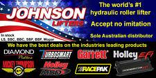 "Johnson drop-in GM race hydraulic roller lifter 2110R – ""dog bone style"" SBC, LS"