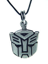 BUTW-  Transformers Autobot symbol pewter pendant charm  necklace 5000B