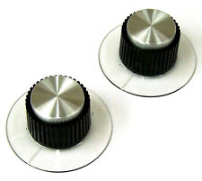 2 New Exact Replacement Input Output Level Control Knobs for UA UREI 1176LN. UJ
