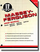 Massey-Ferguson Massey-Harris MF340 MF350 MF355 MF360 MF399 Tractor Manual : ...