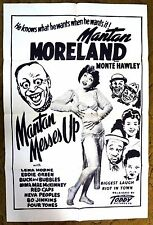"Mantan Moreland & Lena Horne in ""MANTLAN MESSES UP"" - Music & Movie Poster"
