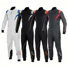 New Alpinestars KMX-5 Kart Racing Suit, Black, White & Gray