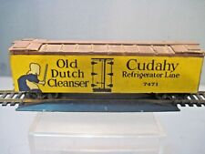 MID CENTURY MODERN  WOOD HO SCALE BILLBOARD REEFER CUDAHY REFRIGERATED LINES