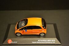 Mitsubishi i-MiEV Japan-Netherland Embassy Car 2010 diecast in scale 1/43