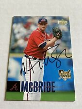Macay Mcbride Signed 2006 Upperdeck Atlanta Braves Card # 901