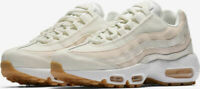 WOMENS NIKE AIR MAX 95 - UK 6/US 8.5/EUR 40 - WHITE/LIGHT PINK (307960-111)