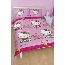 HELLO KITTY Bedding - Folk Double Rotary Duvet Set with Pillowcase