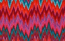 Rowan Kaffe Fassett Bargello Flame Stripe PWGP134 Red Cotton Fabric By the Yard