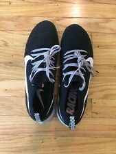 Women Nike Zoom Fly Flyknit Black (US Size 9)
