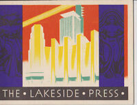 #MISC-0009 - 1933 1934 CHICAGO WORLDS FAIR BROCHURE - LAKESIDE PRESS PUBLISHER
