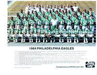 1984 PHILADELPHIA EAGLES TEAM 8X10  PHOTO  FOOTBALL NFL