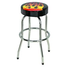 """Flame Design Bar & Counter Swivel Stool 300 Lb capacity """"Be in the Hot Seat"""""""