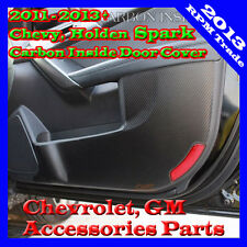 Premium Carbon Protect Inside Door Guard Cover 11 12 13 2014+ Chevy Holden Spark