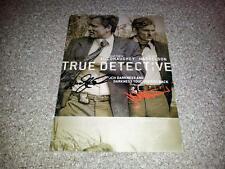 "TRUE DETECTIVE PP SIGNED 12""X8"" POSTER MATTHEW MCCONAUGNEY WOODY HARRELSON"