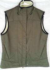 Columbia M Vest Convert Boardwear green zipper front womens ski snowboard