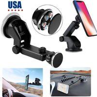 Retractable Magnetic Car Dash Mount Dock Window Holder Universal Phone Table