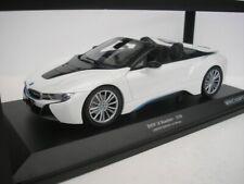 BMW I8 Roadster I15 2017 White Metallic 1 18 Model Minichamps