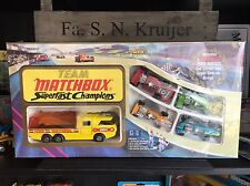 "Rares Matchbox Gift Set G-4 ""Team Matchbox"" mint never opened OVP from 1973"