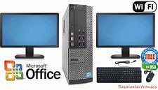 Dell Desktop Win 10 PRO Computer 3.1GHz Intel Core i5 Quad 8GB RAM 1TB WiFi