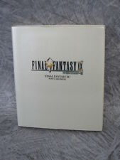 FINAL FANTASY IX 9 Postcard Book Illustration Amano Art DC02*