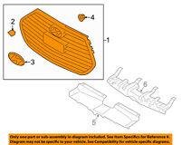 HYUNDAI OEM 13-16 Veloster Front Bumper Grille-Grille Assembly 865612V510