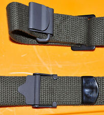 Web Rifle Sling Service Rifle or Carbine Black New USGI Cotton Web Heavy MILSPEC