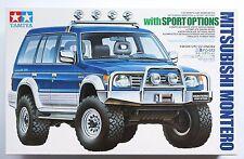 TAMIYA 1/24 Mitsubishi Montero with sports options (Pajero) #24124 model kit
