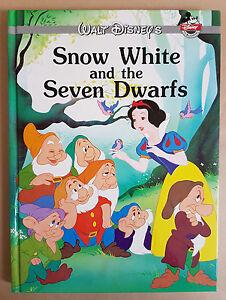 Walt Disney's Snow White And The Seven Dwarfs Hardcover Book